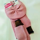 Берет+ шарфик+ рукавички немецкой фирмы Lupilu. Очень красивый