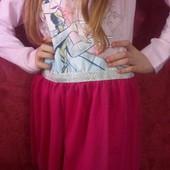 Новое красивое платье Disney 7,8 лет