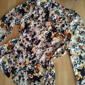 Две фирменные красивые блузки одним лотом р. 16-18