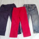 Штаны и джинсы все одним лотом