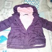 Курточки деми 6-12м