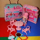 Набор куколка Лол Lol Surprise с мебелью в сундучке-домике