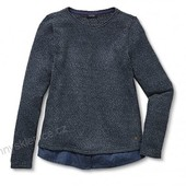 ☘ Многослойный эффектный свитер-блуза от Tchibo(Германия), размеры наши: 46-48 (40/42 евро)