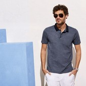 Суперовая мужская футболка Polo Livergy Германия размер S(44/46)