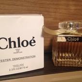 Chloe parfume, оригинал , тестер Франция
