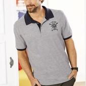 Стильная мужская футболка поло от Livergy Германия размер L (52/54)