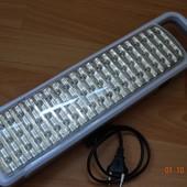 Большой и яркий LED светодиодный светильник отличного качества. Светит очень  ярко