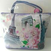 Новая вместительная сумочка Размер 44х30 ,очень стильные и классные