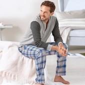 Фланелевые брюки (релакс) для дома и отдыха от Tchibo (Германия), размеры наши: 54-58 (XL евро)