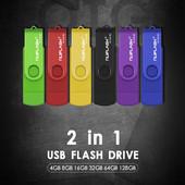 Флешка  2 в 1 32Gb. Для компьютера и смартфона!!!.