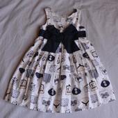 Красивое платье Next 2-4 года. Без нюансов