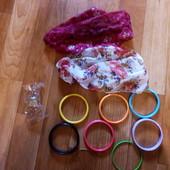 Косынки, браслеты, кольцо
