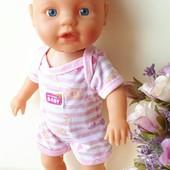 Интерактивная кукла пупсик лялька веселое купание Беби борн Baby born Zapf Creation