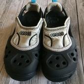 Крутые Crocs оригинал в отличном состоянии размер C12-13 стелька 18,5 см откраивание до края