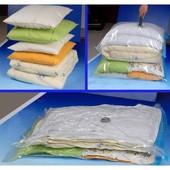 Многоразовый вакуумный пакет отл. качества для хранения вещей 60*50 см.