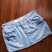 Джинсова юбка. Розмір 29