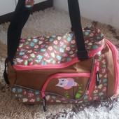 Фирменная сумка -рюкзак  из Европы  3 в 1   очень крутая