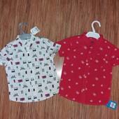 Нові Фірменні Дитячі Рубашки лот на вибір
