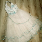 Платье на 7 лет.Есть ньюанс.