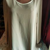 Шифоновая блуза, двойной шифон.