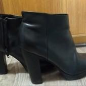 ботиночки, натуральная кожа