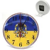 Часы с будильником  на стену или на стол