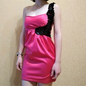 """Фирменное выпускное платье """"Rise"""" в идеале, размер 6/8, XS/S. Пайетки"""