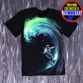 !Хит продаж! Класнючие футболки! Рисунок светится в темноте