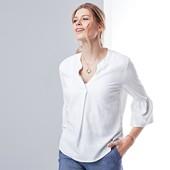 ☘ Эффектная льняная блуза от Tchibo(Германия), размеры наши: 44-46 (38 евро)