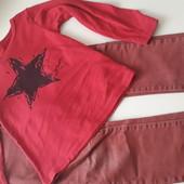 Реглан +джинсы !! 4-5 лет