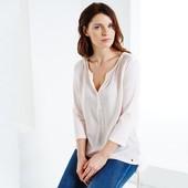 Нежная женская блуза 48-50р евро Tcm Tchibo Германия смотрите замеры