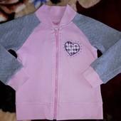 Стильная кофта на девочку американского бренда nannette (США)4года