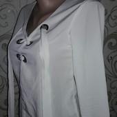Белая блузка со шнуровкой Missguided