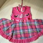 2 летних платья(сарафаны) на годовалую девочку