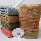 Банное махровое полотенце 140*70 см - 1 шт.Плотное.Турция