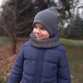 Зимняя куртка Rebel+полукомбинезон 4-5г.