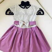 ❤️красивенное нарядное платье! Размер 116!