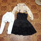 Набор платье с болеро 146-152рост