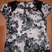 Блуза плечики кружево