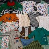Лот одежды для новорожденного малыша