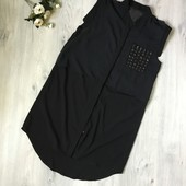 Стильная длинная блузка Julie,размер М/Л