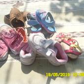 5 пар обуви одним лотом Для девочки