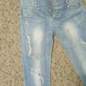 Классные джинсы в идеале!С низкой посадкой на бедрах