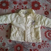 Отличная курточка на девочку на размер 80-86+подарок.на теплую весну-осеньИталияесну -осень