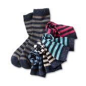 ☘ Лот 2 шт ☘ Разноцветные хлопковые носочки, плотные, tcm Tchibo (Германия), размеры: 23-26