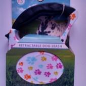 Рулетка - поводок для собак 5 метрів вага до 15кг! Відмінна якість!