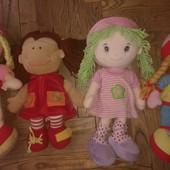 Куклы мягкие большие