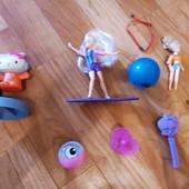 Лот игрушек для девочки