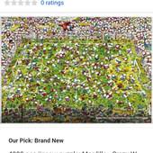 Новый пазл 4000 элементов Mordillo Crazy World Cup Puzzle - 29072