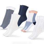.Комфортные носки из органического хлопка от ТСм чибо(германия) , лот 3 пары